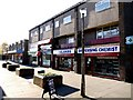 NZ1672 : Ponteland Shopping Centre, Thornhill Road by Andrew Curtis