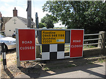 TL4279 : Flood gate by Hugh Venables
