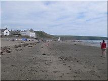 SH1726 : The beach at Aberdaron by Eirian Evans