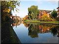 SP0586 : Birmingham Main Line - beyond St. Vincent Street bridge by Gareth James