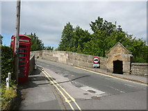 SK2572 : Baslow Old Bridge and watchman's guard house by Colin Park