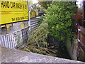 TQ3268 : Brigstock Road: looking downstream at the crossing of Norbury Brook by Christopher Hilton