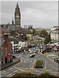 SD8913 : Rochdale Town Hall and South Parade by David Dixon