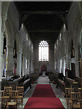 SO3958 : A view of the nave by Bill Nicholls