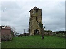 SP4477 : Church Tower, King's Newnham by Alex McGregor