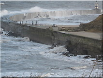 NZ4349 : North Pier Seaham by peter robinson