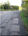 ST6290 : Junction of Kington Lane and Kington Road, Kington by Robin Stott