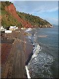 SX9265 : Oddicombe Beach - steps by Derek Harper