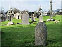 S4227 : Standing Stone & High Crosses by kevin higgins