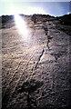 NN1744 : Granite slabs, Stob Coir an Albannaich by Karl and Ali
