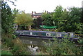 TQ5846 : Narrowboat, River Medway by N Chadwick