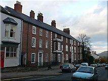 SJ0566 : Houses on Vale Street, Denbigh by Eirian Evans