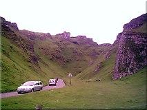 SK1382 : Winnats Pass near Castleton, Derbyshire by Ashley Dace