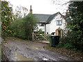 TM1184 : The Downs (farmhouse) by Evelyn Simak