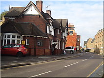 TQ1667 : The Crown public house, Thames Ditton by Stacey Harris