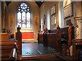TQ3461 : All Saints church, Sanderstead: chancel by Stephen Craven