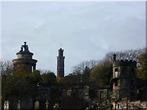 NT2674 : Regent Road Cemetery from Calton Road by kim traynor