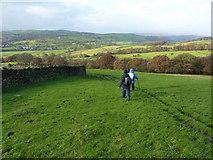 SE0950 : Walking down towards Addingham by Peter Barr