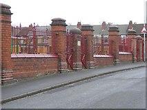 SO9596 : Ashley Street Gate by Gordon Griffiths