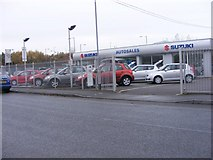 SO9596 : Autosales Cars by Gordon Griffiths