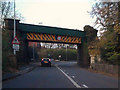 SJ5177 : Rail Bridge, Chester Road, Marsh Green by David Dixon