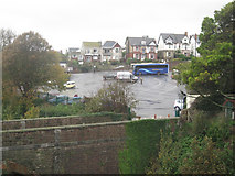 SX9473 : Coach and car park, Dawlish Road, Teignmouth by Robin Stott