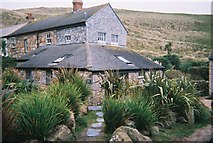 SW3526 : Cottage in Vellan Dreath Valley, Sennen, Cornwall by Trionon