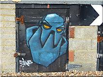 TQ3103 : Graffiti, Brighton, East Sussex by Christine Matthews