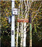 J3371 : Old street sign, Belfast by Rossographer