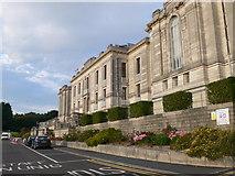 SN5981 : Llyfrgell Genedlaethol Cymru - The National Library of Wales by Eirian Evans
