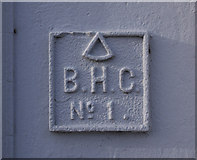J3475 : BHC Marker, Belfast by Rossographer