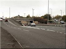 SJ8587 : Kingsway (A34), Cheadle Royal by David Dixon