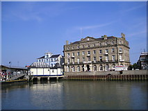 TM2532 : The old quay at Harwich from Ha'penny Pier by Chris Holifield