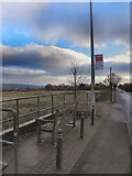 SD7013 : Bus Stop With A View, Horrocks Fold by David Dixon