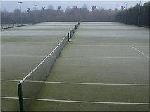 TQ2472 : Tennis courts, Wimbledon Park by Derek Harper