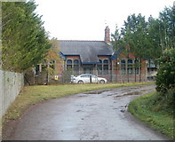 ST1273 : Former railway station building, Wenvoe by Jaggery