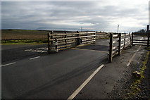 SD7148 : Cattle grid on the B6478 by Bill Boaden