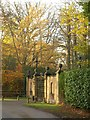 SU9284 : Entrance to Burwood Estate by Derek Harper