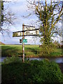 TM3982 : Cox Common Roadsign by Adrian Cable