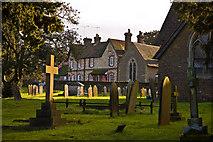 SU8441 : St Mary's Church Frensham by Alan Varndell