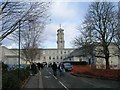 SK5437 : Jubilee Avenue entrance to the Trent Building by David P Howard