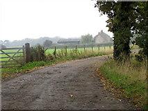 NZ2320 : Track to Walworth Moor Farm by Maigheach-gheal