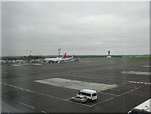 NZ1871 : Newcastle International Airport by Willie Duffin