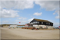 TQ9618 : Marina Cafe, Camber Sands by N Chadwick