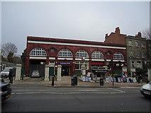 TQ2785 : Belsize Park underground station by Stacey Harris