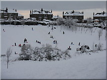 NT2470 : Snow scene after L.S.Lowry? by M J Richardson