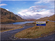 NN6039 : Lawers Dam by wfmillar