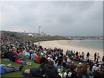 C8540 : Airshow spectators on West Bay promenade by Willie Duffin