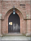 NY4057 : St Michael's Church, Stanwix, Carlisle, Doorway by Alexander P Kapp