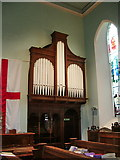 NY4057 : St Michael's Church, Stanwix, Carlisle, Organ by Alexander P Kapp